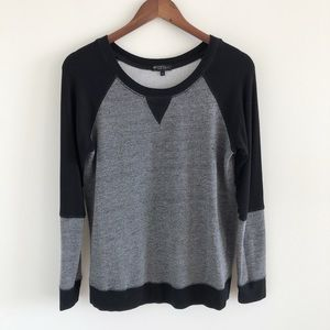 Beyond Yoga Honeycomb Colorblock Pullover Med